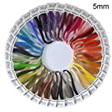 Shilpi Quilling Paper 1750 Strips Set - 5mm, 35 Colors, 35 Packs (Tamaño: 5mm)