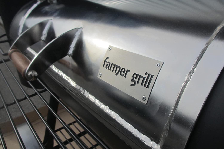 Farmer Grill Edelstahl BBQ-Smoker FG-400-KE60 bestellen