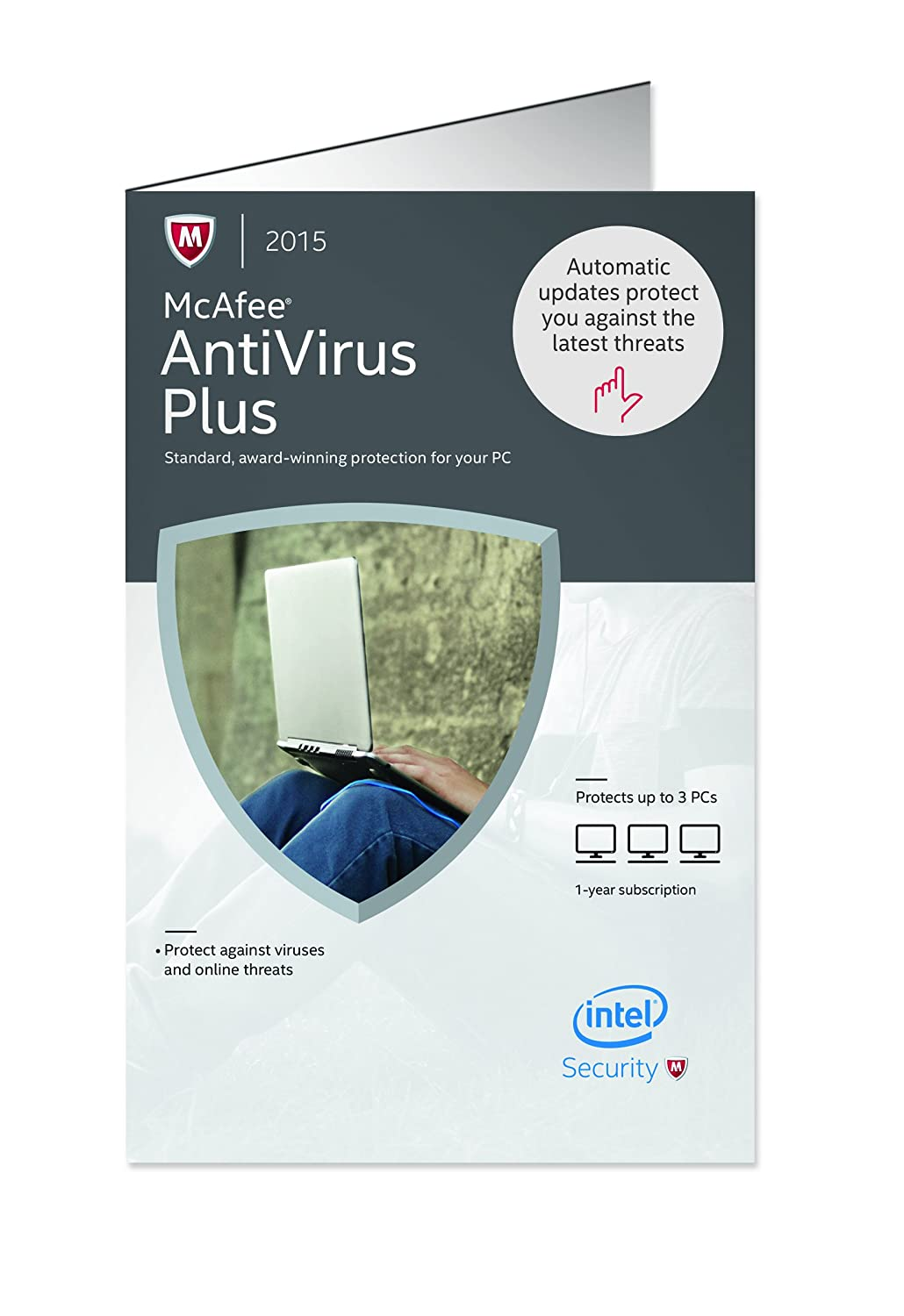 McAfee Antivirus Plus 2015 - 3 PCs