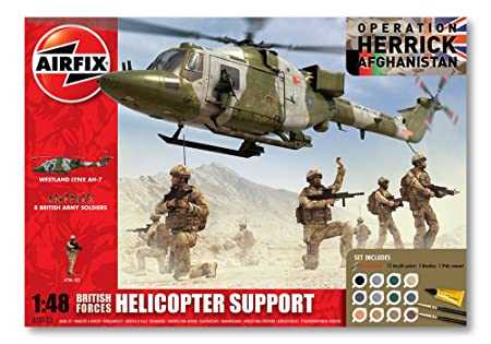 Airfix - A50122 - Maquette - British Forces - Helicopter Support