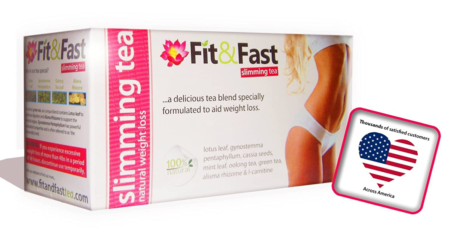 Slimming & Diet Tea Bags For Weight Loss - 14 Day Teatox