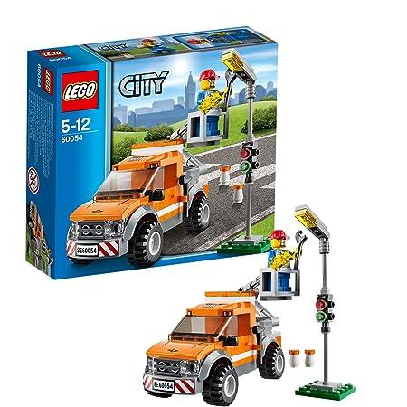LEGO City - 60054 - Jeu De Construction - Le Camion De Réparation