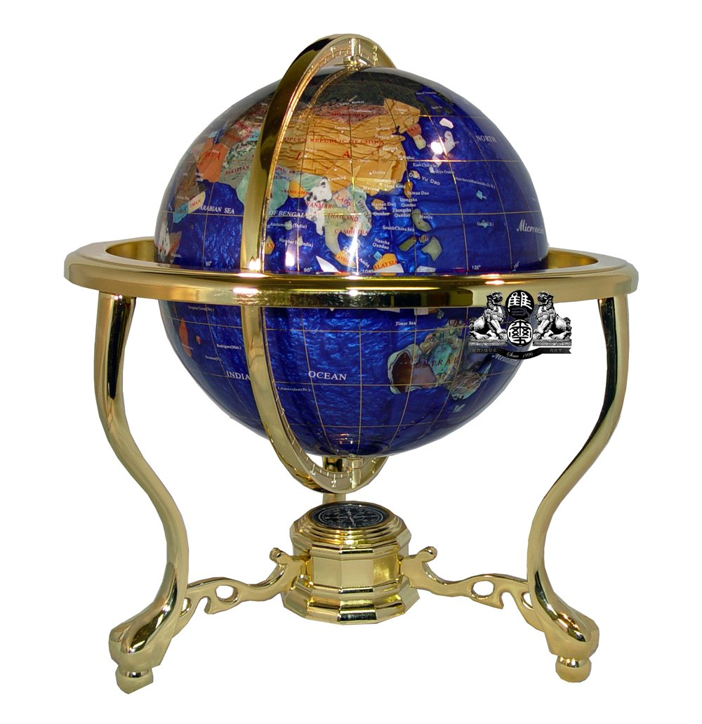 gemstone world globes