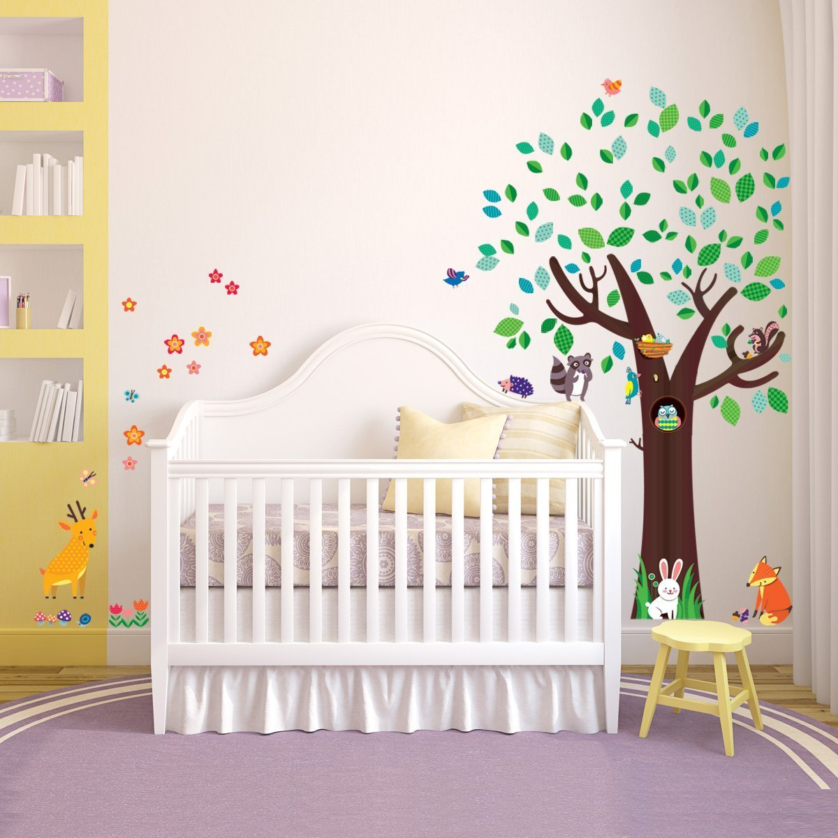 wandtattoo baum kinderzimmer baum wandtattoo im. Black Bedroom Furniture Sets. Home Design Ideas