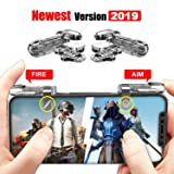 PUBG Mobile Game Controller [Upgrade Version], L1R1 Mobile Phone Controllers for iOS & Android Fortnite Mobile Trigger, Shoot Mobile Phone Joystick for Rules of Survival, Last Battle Ground