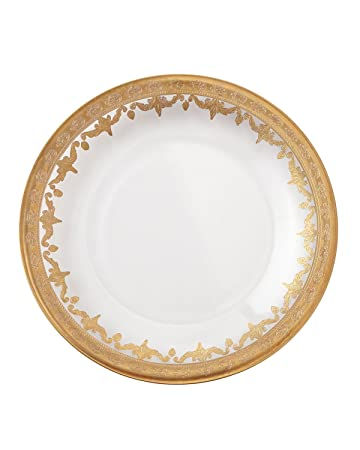 Arte Italica Vetro Gold Dinner Plate - Set of 4