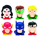 Mash'Ems - Justice League 4 Pack (4 Blind Capsules Per Order) Squishy Collectible Toy