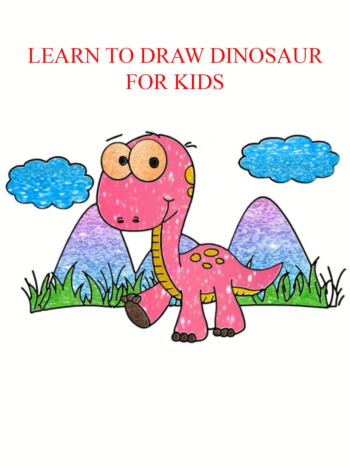 Clip: Learn to draw dinosaur for kids