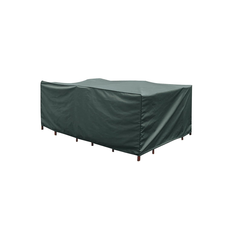 Greemotion Schutzhülle für Gartentisch/Sitzgruppe wasserabweisend mit Zugband, Grün, ca. 250 x 150 x 100 cm jetzt kaufen