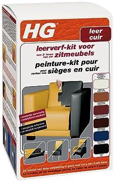 hg peinture pour cuir kit kit noir 700 ml hygi ne et n soins soins du corps m245. Black Bedroom Furniture Sets. Home Design Ideas