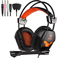 Sades 921S Over-Ear 3.5mm Wired Gaming Headphones