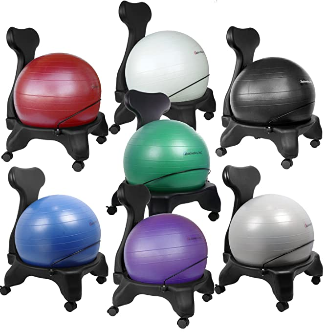 Isokinetics Inc. Brand Balance Exercise Ball Chair