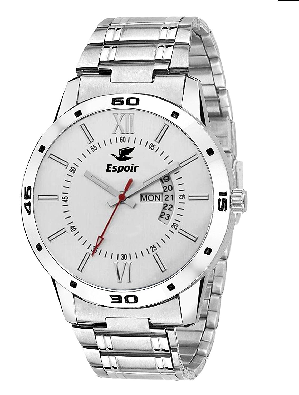 Deals on Stainless Steel Men's Watch
