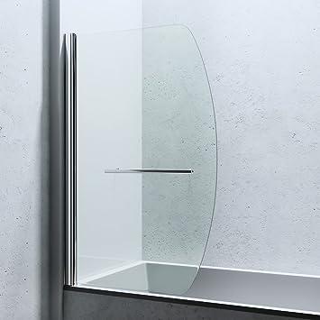 Paroi de douche douche pare douche pour baignoire verre de s curit cortona - Paroi verre baignoire ...