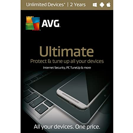 AVG Ultimate, UNLIMITED Devices, 2 Years [Download]