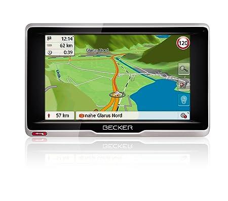 Becker 1501830000 GPS Noir, Argent