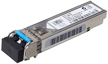 Cisco - Module transmetteur SFP (mini-GBIC) - 1000Base-LX, 1000Base-LH - LC mode unique - module enfichable - jusqu'à 10 km - 1310 nm - reconditionné(e)