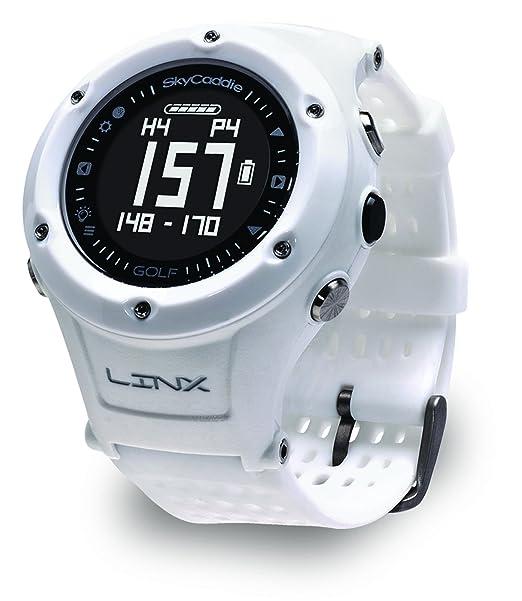 SkyCaddie Linx GPS Watch White White