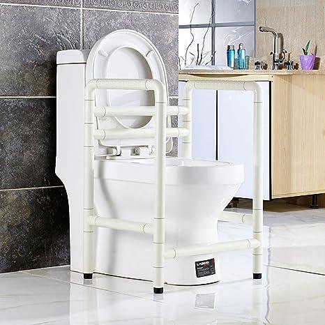 UZI-Il vecchio WC con braccioli anello luminoso, bagno WC privo di barriere di sicurezza in persone di donne incinte con disabilità aiutare