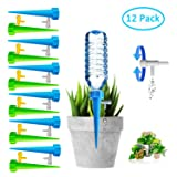 Plant Self Watering Spikes Bulbs Globes Stakes System,Vacation Plant Waterer Nannies Pot Self Drip Irrigation Slow Release Devices Care Your Indoor &