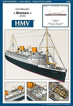 Modèle rapide HMV 3302 Défroisseur Brême IV