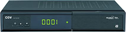 CGV HD 70005 E-SAT W3 Tuner Tuner TNT