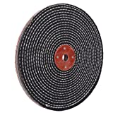 10 inch Coarse Denim Buffing Polishing Wheel (1/2 Inch Thickness ) for Bench Grinder with 3/4'' Arbor Hole,1 Pack (Tamaño: 1/2 inch Thick Grit Coarse 1pc)