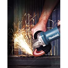Makita 9557PB 4-1/2-Inch Angle Grinder with Paddle Switch