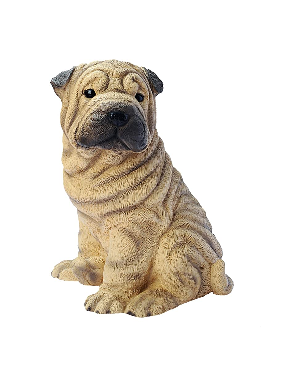 Chinese Shar Pei Puppy Dog Statue