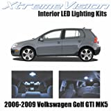 XtremeVision Volkswagen Golf GTI MK5 2006-2009 (11 Pieces) Cool White Premium Interior LED Kit Package + Installation Tool