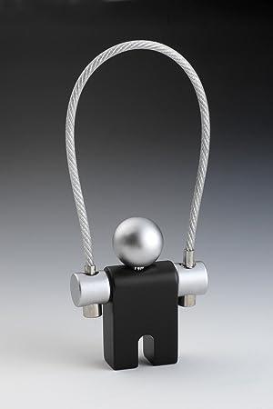 Troika key-anillo jersey negro