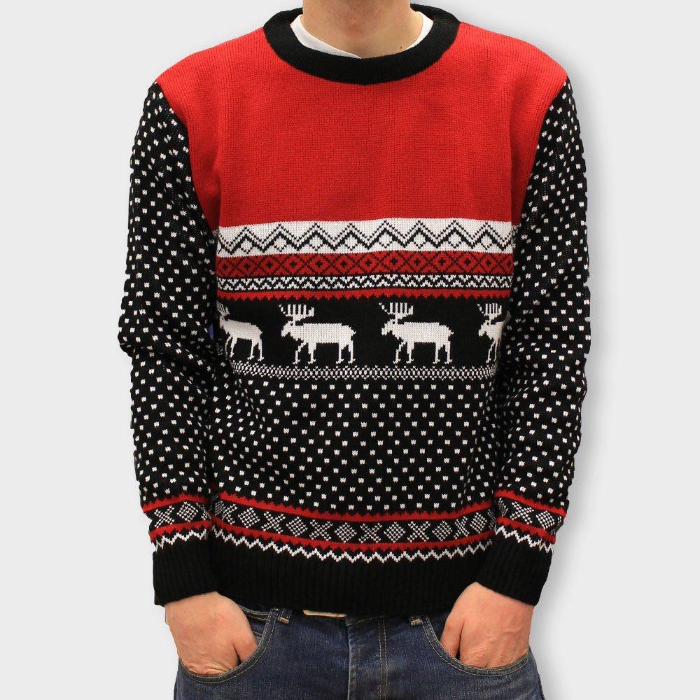 Marching Reindeer Christmas Jumper
