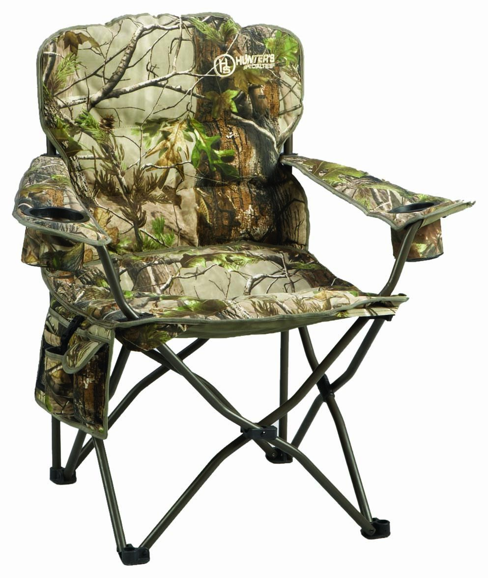 Folding Chair Hunters Specialties Deluxe Pillow Camo Outdoors Camp NEW : eBay