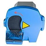 zinnor Dental Laboratory Model Trimmer Wet Plaster Abrasive Lab Equipment (Ship from US) (Color: Blue)