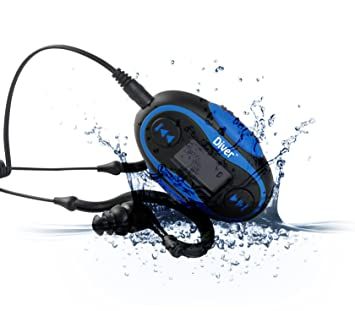 Diver TM Waterproof MP3 Player 4 GB Kit