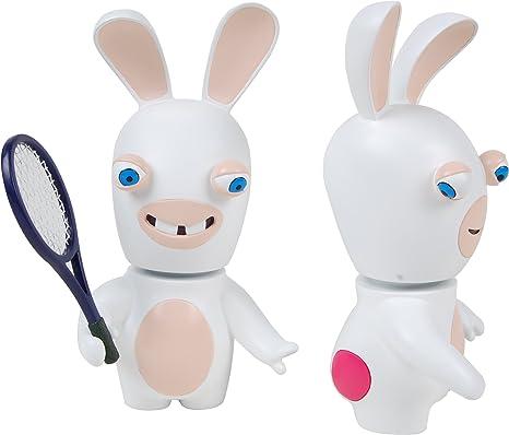 Lapins Crétins - LAP5496 - Jeu de Plein Air - Lapin Cretin - Figurine 3D Lapin - Tennis Double Pack