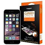 Amazon.co.jp: iPhone6 全面液晶保護フィルム, Spigen® iPhone 6 4.7 カーブド・クリスタル (2014) (国内正規品) (カーブド・クリスタル【SGP11299】): 家電・カメラ