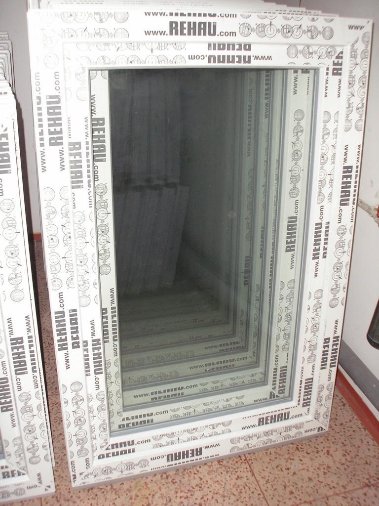 Kunststofffenster 80 x 120 (b x h), Rehau, 1 flügelig, weiss, Din rechts  BaumarktKritiken und weitere Infos