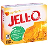 Jell-O Apricot Gelatin Mix 3 Ounce Box (Pack of 6) (Color: Apricot, Tamaño: 3 Ounce (Pack of 6))
