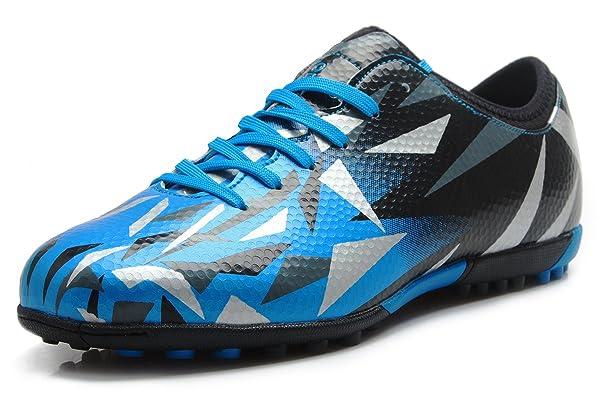 58d97641d T B Turf Soccer Shoes Kids Football Firm Ground Sky Blue Black  No.76516-TL-32-1.5US ...