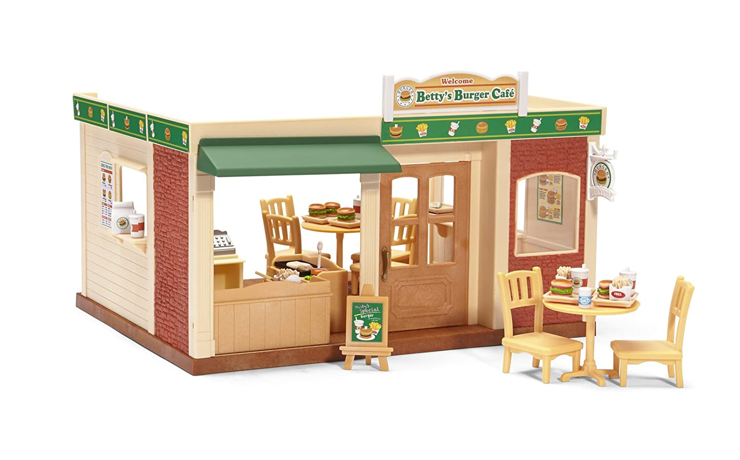 Calico Critters Burger Cafe Play Set