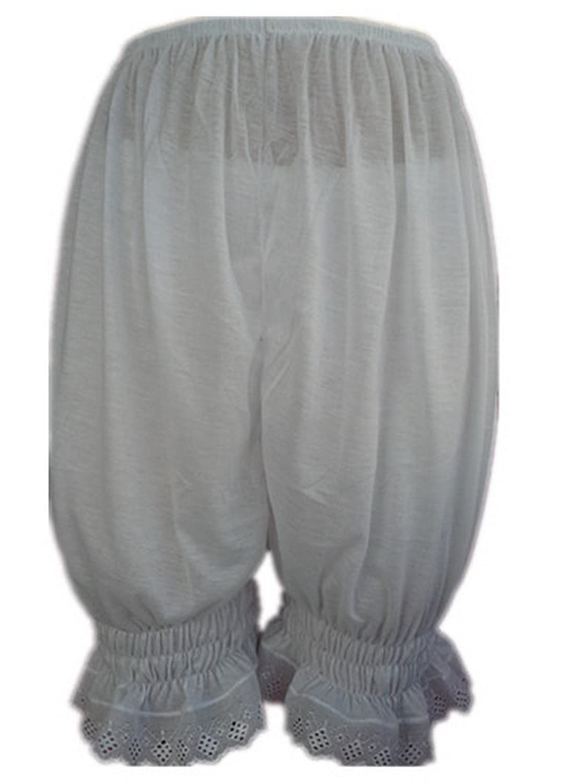 Frauen Handgefertigt Halb Slips UL3CWH WHITE Half Slips Cotton Women Pettipants Lace jetzt kaufen