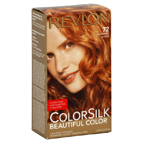 Amazon Com Colorsilk Permanent Hair Color Strawberry