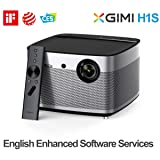 Home Cinema Projector, XGIMI H1S Auto Focus Native 1080p HD Projector Android 3D Home Theater Projector TV Built-in Harman/Kardon Customized Stereo with LiveTV.Direct Enhanced Software Services (Color: H1S-TRANS)