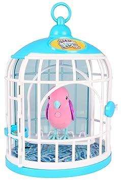 Little Live Pets - 33345 - S2 - Oiseau Avec Cage - Christelle Cristal