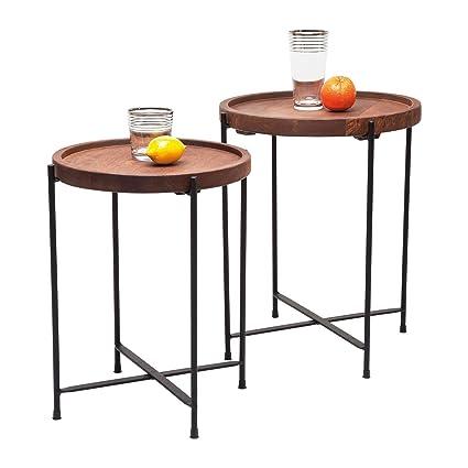 Kare design Table 78218Slimline Quattro (Lot de 2