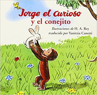 Jorge el Curioso y el Conejito