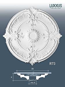 Orac Decor Decken Rosette LUXXUS R73 Stuckrosette Zierelemente  BaumarktKritiken und weitere Informationen