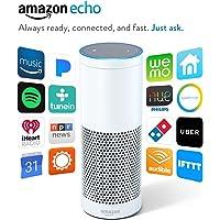 Amazon Echo Voice Activated Wireless Speaker (White) - Refurbished