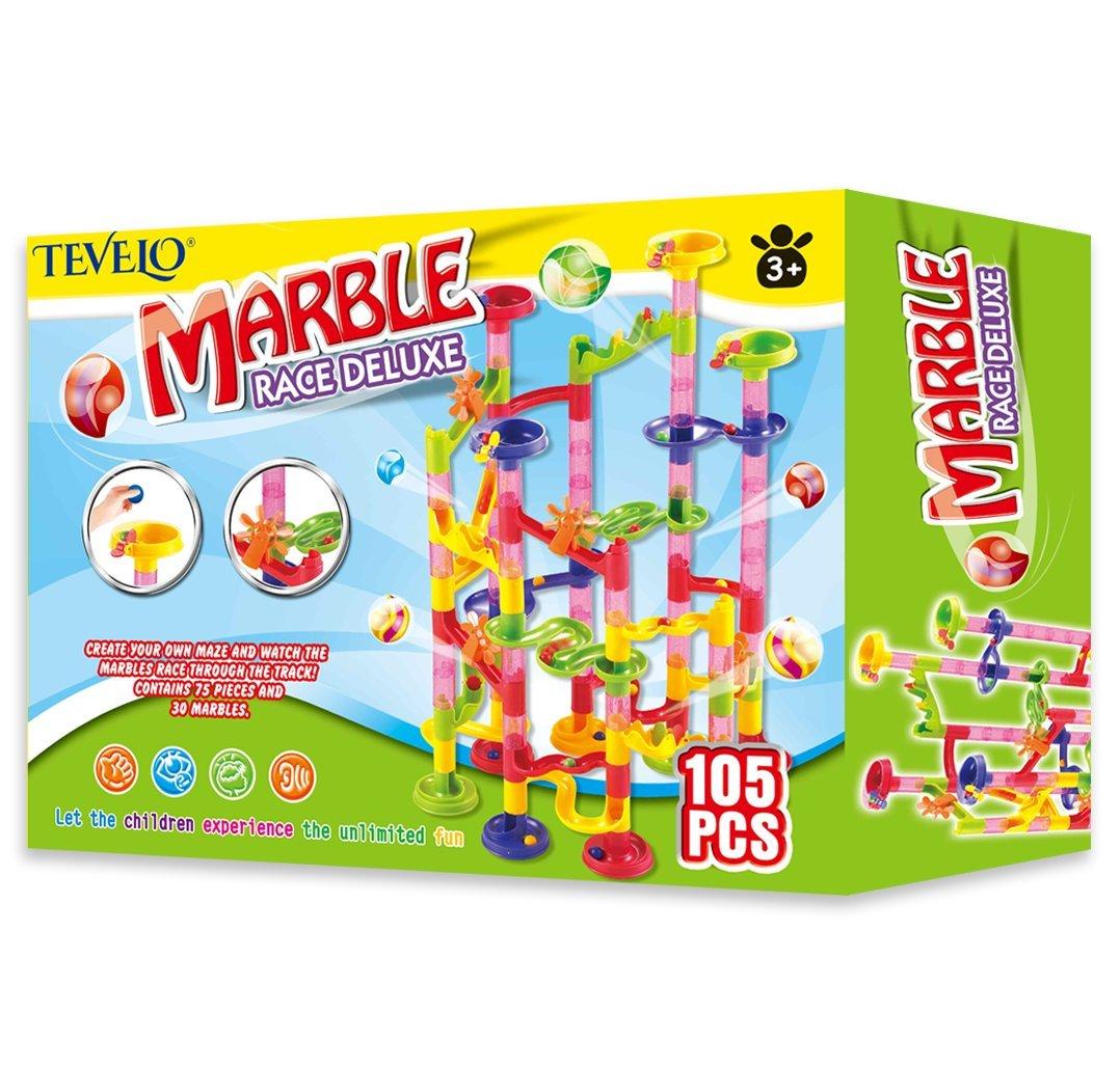 Marble Run Coaster 105 Piece Set 15 97 From Amazon
